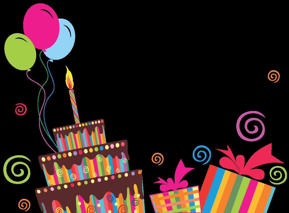 Открытки день рождения в вектор, любимой